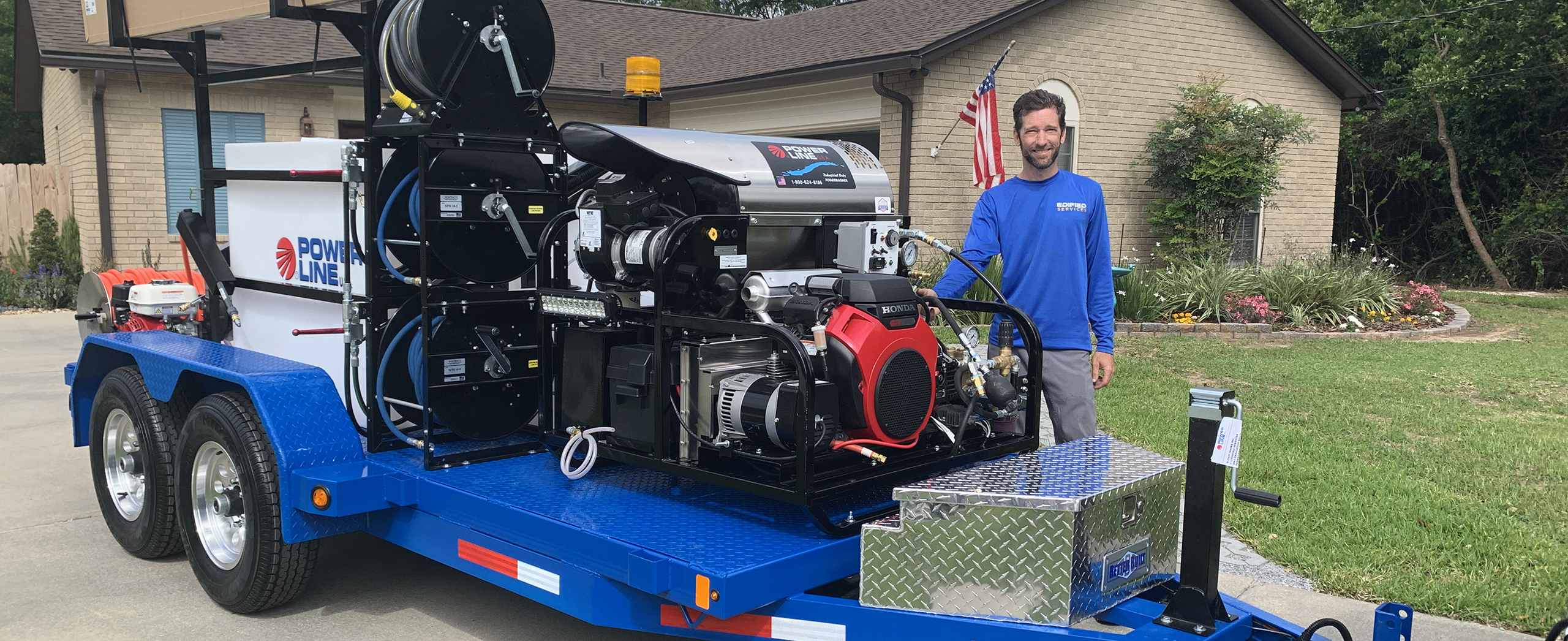 Ed Wehmeier and Edified Services equipment